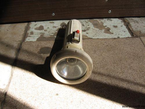 Для подводного снаряжения фонарь советского производства