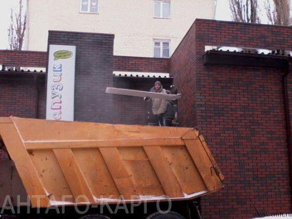 уборка строительного мусора, вывоз битого кирпича. Город и область.