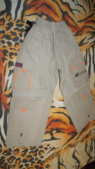 Штаны+ шорты два в одном. Фото 1.