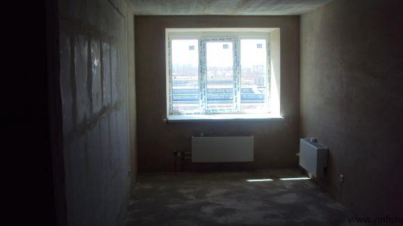 1-комнатная квартира 39,6 кв.м