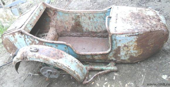 Для мотоцикла М-72 коляска 1953 г. в., 3 тыс. р
