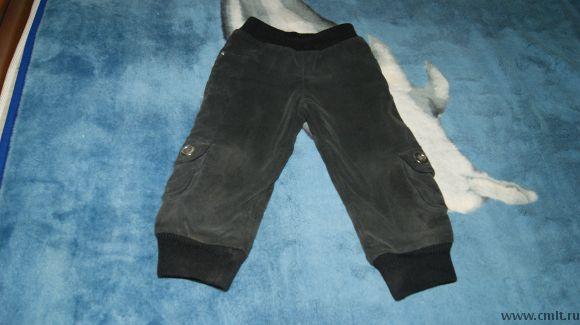 Штаны осенние. Фото 1.