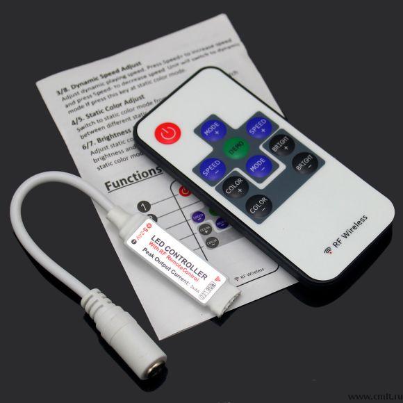 пульт контроллер димер для светодиодных лент