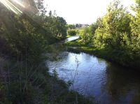 Вид с участка на реку