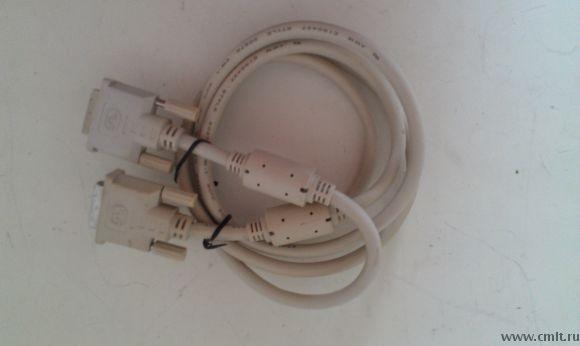 качественный кабель DVI-I-DVI-I Single Link 1.8 м