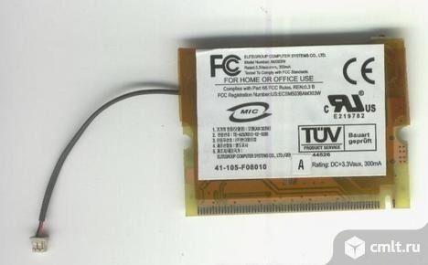 Модуль Wi-fi для ноутбука minipci ECS AM303W