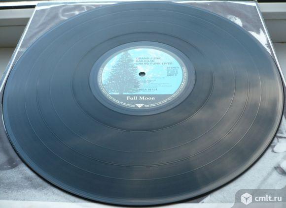 """Грампластинка (винил). Гигант [12"""" LP]. Grand Funk Railroad. Grand Funk Lives. 1981. Германия.. Фото 8."""