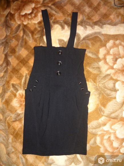 Продам новую юбку на бретелях р.36